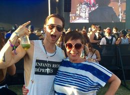 Denise Welch And Jared Leto Give Us Coachella's Most Random Moment Ever