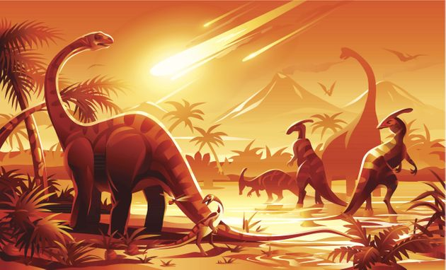 Scientists Reveal That The Dinosaurs Were Already Dying Out Before Giant Meteor