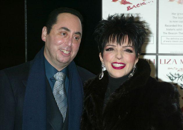 David Gest and Liza Minnelli married in