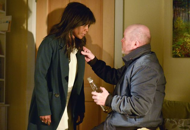 Denise Fox and Phil Mitchell are set to hook up on