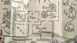 Harry Potter Fan Creates Marauder's Map To Propose To
