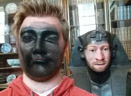 This Guy Went Around The British Museum Faceswapping With All The Statues