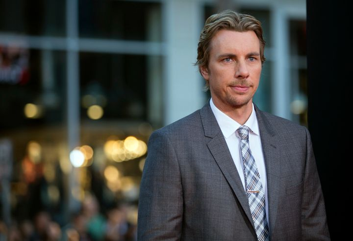 "Dax Shepard poses at the premiere of ""This Is Where I Leave You"" in Hollywood, California, Sep. 15, 2014."