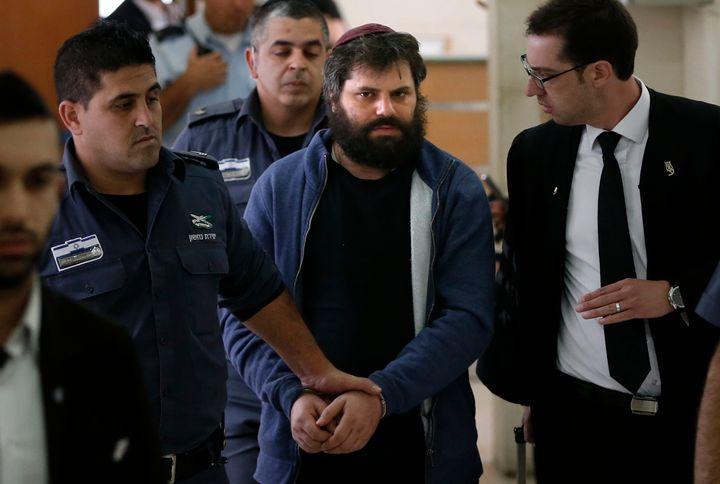 Yosef Haim Ben-David, pictured here, organized the killing of a 16-year-old Palestinian boy.