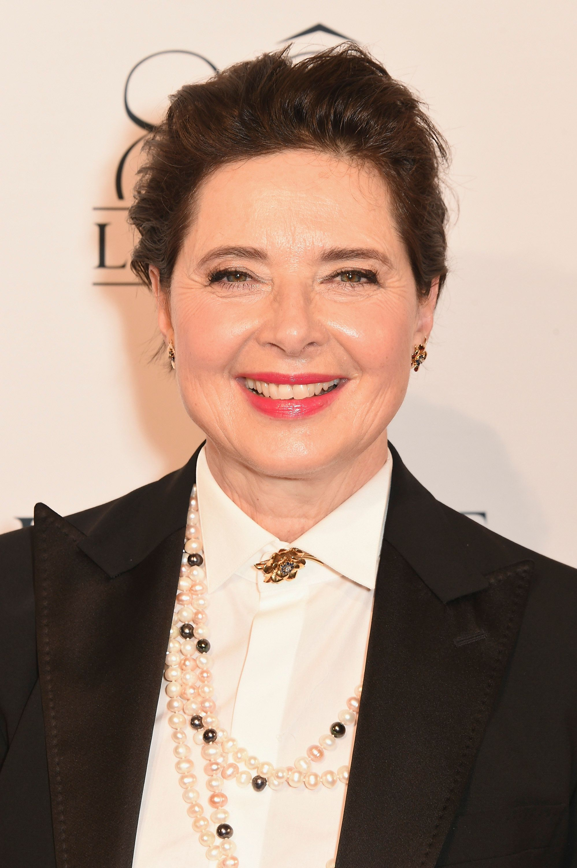 PARIS, FRANCE - JULY 07: Isabella Rossellini attends the photocall for the Lancome Celebrates 80 Years of Beauty With All Its Ambassadresses on July 7, 2015 in Paris, France.  (Photo by David M. Benett/Dave Benett/Getty Images for Lancome)