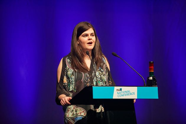 Outgoing NUS president, Megan Dunn, said: 'We are stronger when we work