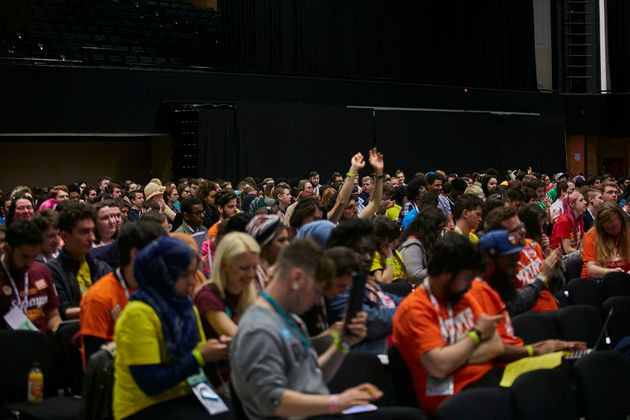 The NUS national conference was held in Brighton this