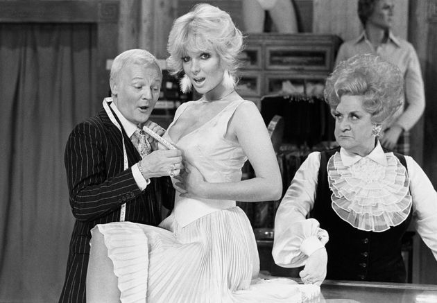 John Inman starred in the hugely popular 'Are You Being Served' in the 1970s and early