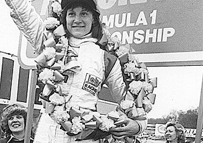Desiré Wilson, the only woman to ever win an F1