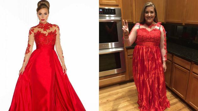Girl Buys Prom Dress On The Internet, Immediately Regrets