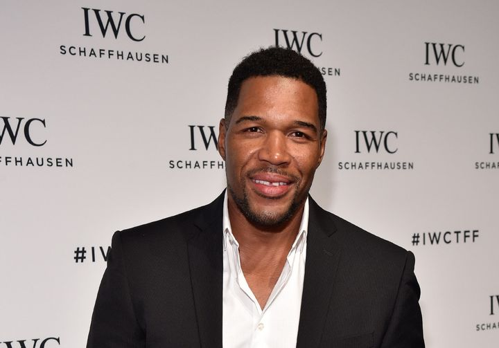 TV personality Michael Strahan attends the 4th Annual IWC Schaffhausen 'For The Love Of Cinema' dinner on April 14, 2016 in N