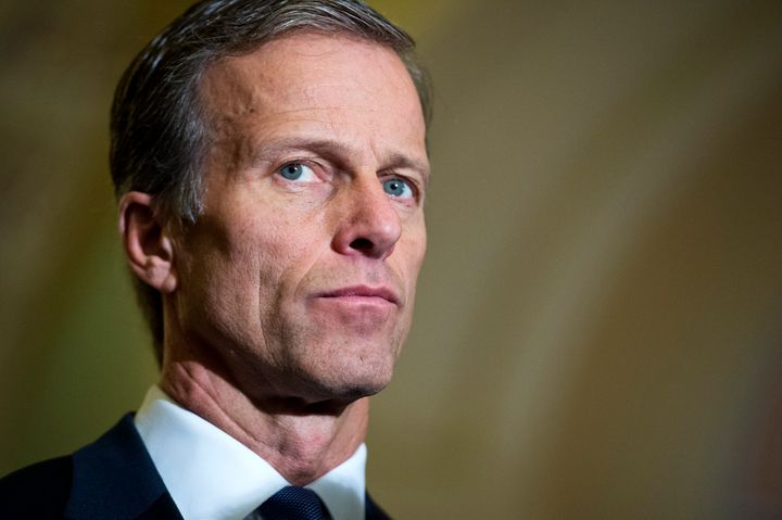 Sen. John Thune (R-S.D.) dismissed a poll showing a majority of voters support action on President Barack Obama's Supreme Cou