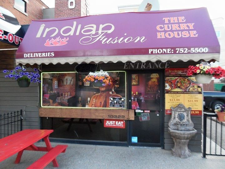 The exterior of Indian Fusion.