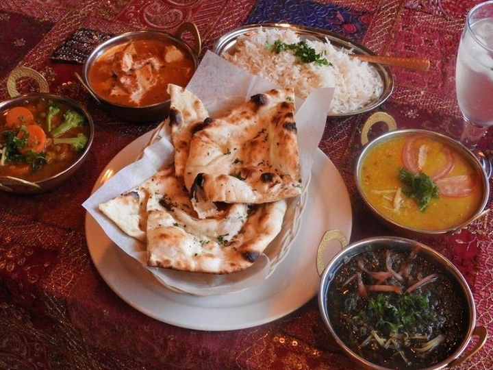 Some of Indian Fusion's cuisine.