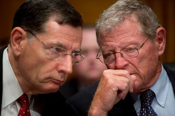 Sens. John Barrasso (R-Wyo.) and James Inhofe (R-Okla.) signed a letter this week asking to cut funding to a U.N. climate cha