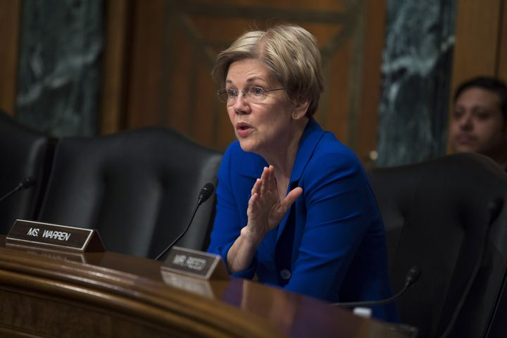 "Elizabeth Warren was not sympathetic to Ted Cruz's complaints about the personal ""sacrifice"" he has made to ru"