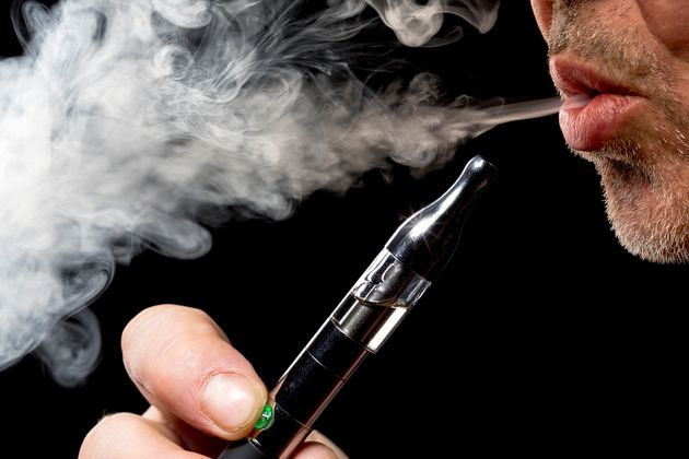Study Finds Indoor Vaping 'Unlikely' To Pose A Health Risk To