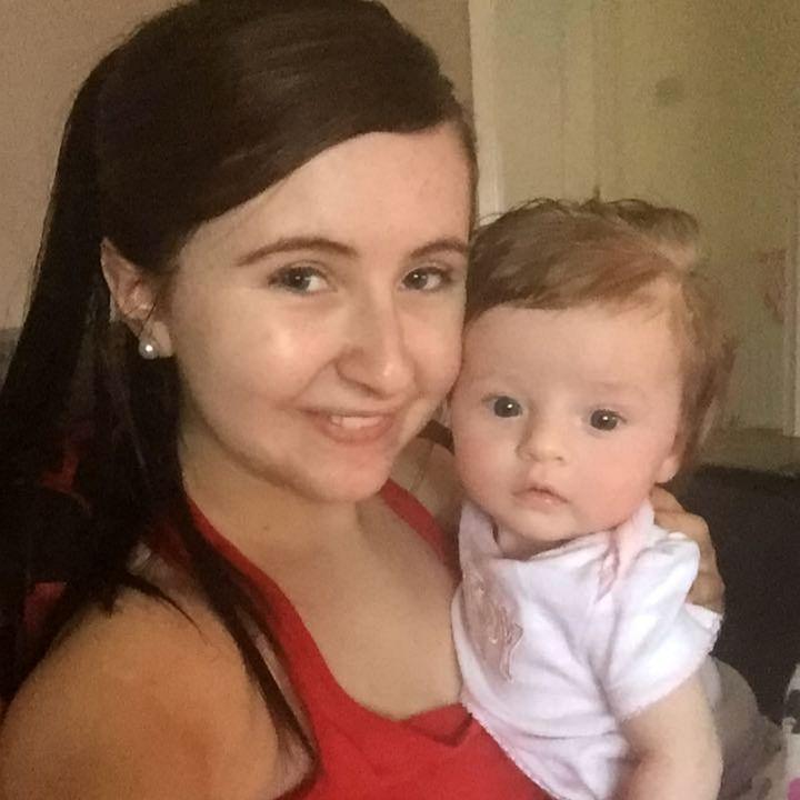 Amy McIndewar and her daughter Mya Byrne
