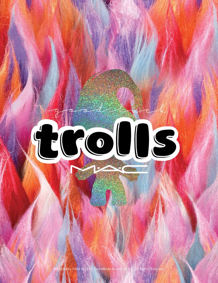 MAC's New Troll Dolls Collection Is Equal Parts Neon And Nostalgia