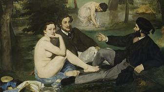 """Édouard Manet, """"Luncheon on the Grass,"""" 1862–1863"""