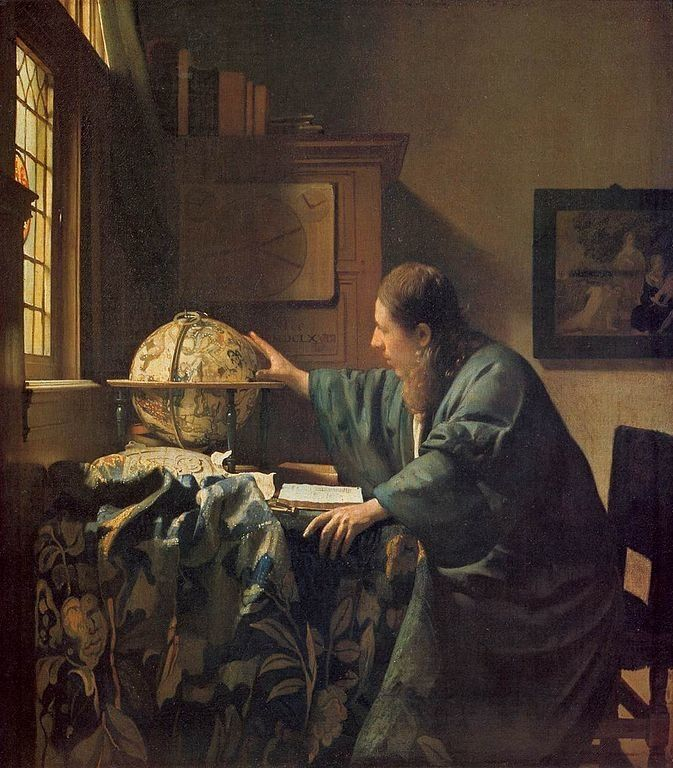 "Johannes Vermeer, ""The Astronomer,"" circa 1668"