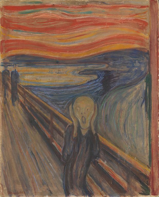 "Edvard Munch, ""The Scream,"" 1893"