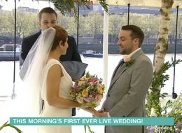 'This Morning' Hosted A Live Wedding And It Got Very Emotional