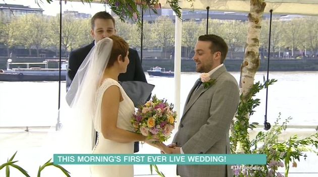 Annie and Gareth married live on 'This