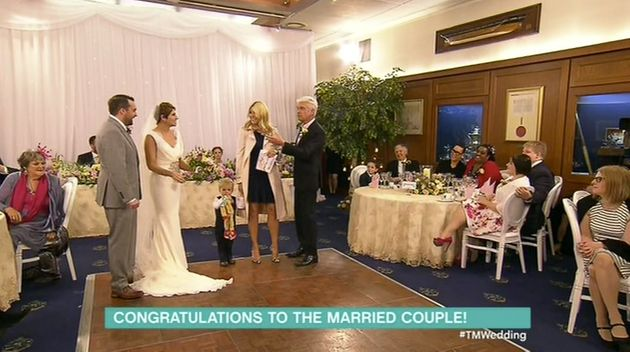 Holly Willougby and Phillip Schofield surprised them with details of their