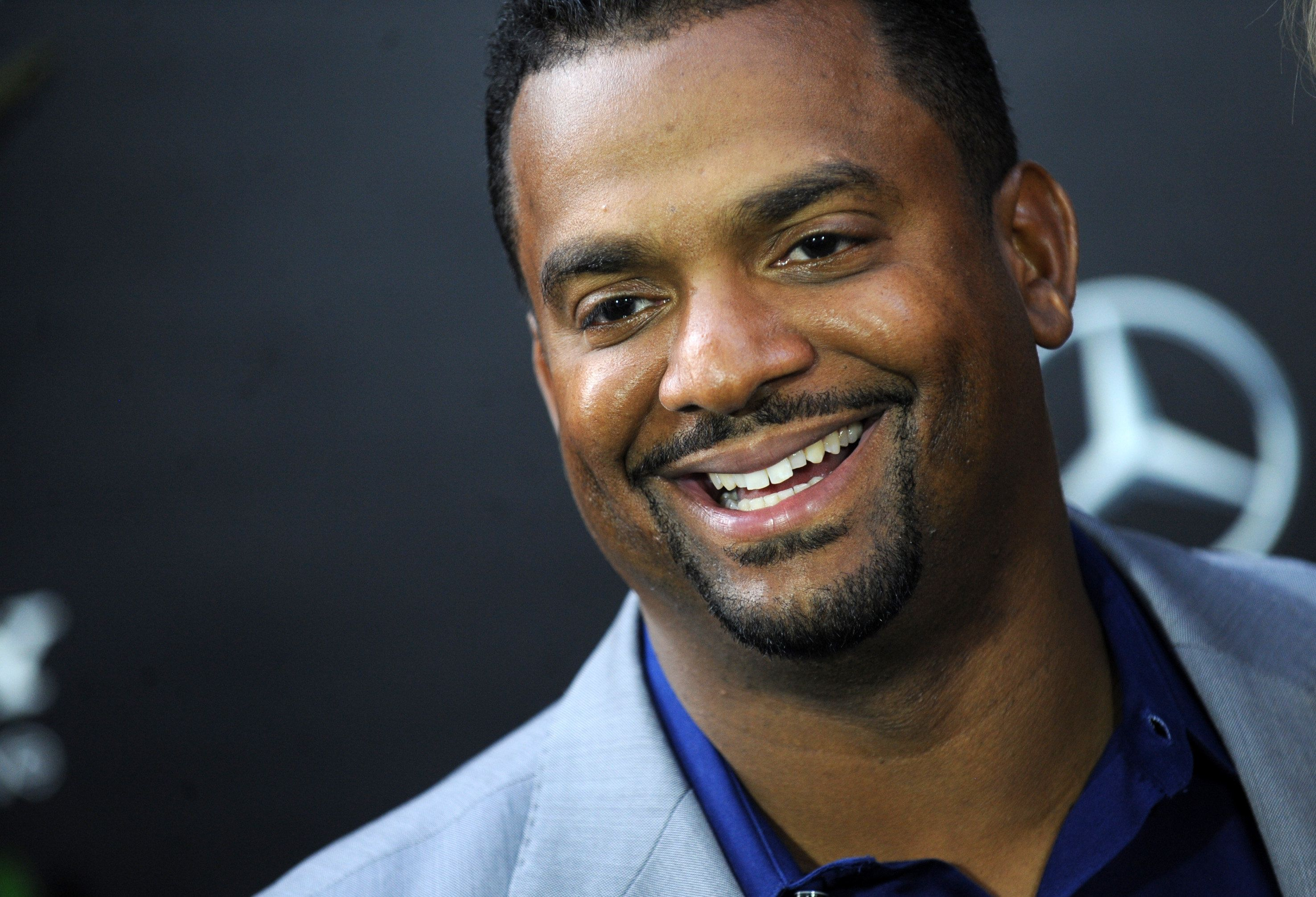 Alfonso Ribeiro attends the 'After Earth' premiere at the Ziegfeld Theater in New York on May 29, 2013.