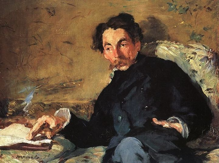 "Edouard Manet, ""Portrait of Stephane Mallarme,"" 1876"