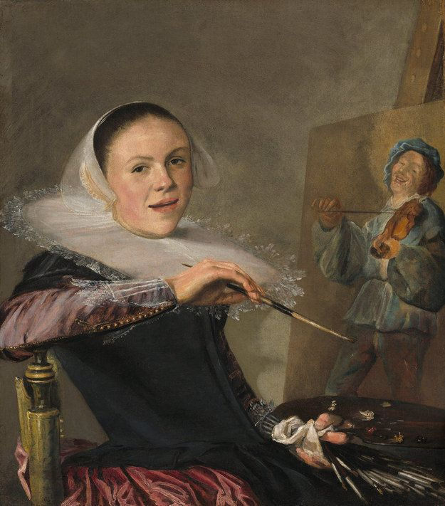 "Judith Leyster, ""Self-Portrait,"" 1633"