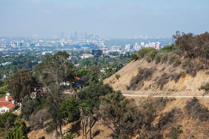 Hike Runyon Canyon for a great view of Los Angeles.