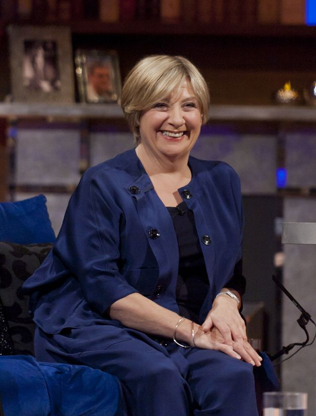 Victoria Wood, pictured here in