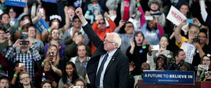 Bernie Sanders built on the same populist anger that challenged New York's governor two years earlier.