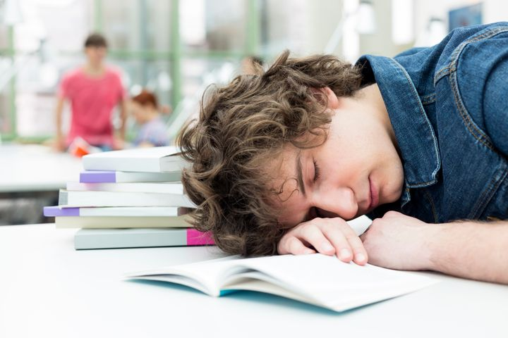 New data that analyzed sleep habits of college students who wear Jawbone's UP fitness trackers found students actually sleep as much as 7 hours a night on average -- but experts say that still is probably not enough.