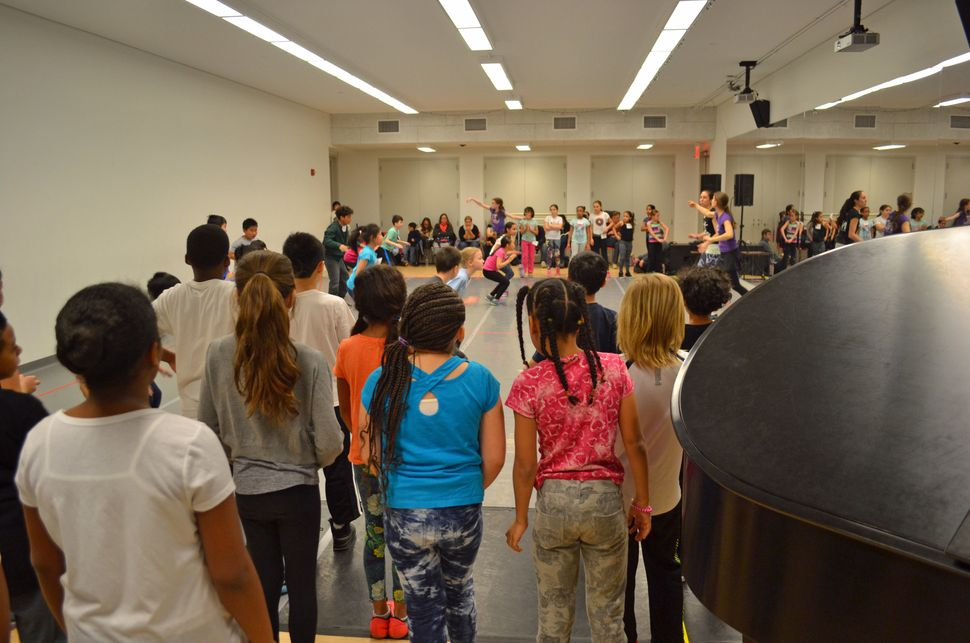 NDI rehearsals feature live music from musicians around New York City.