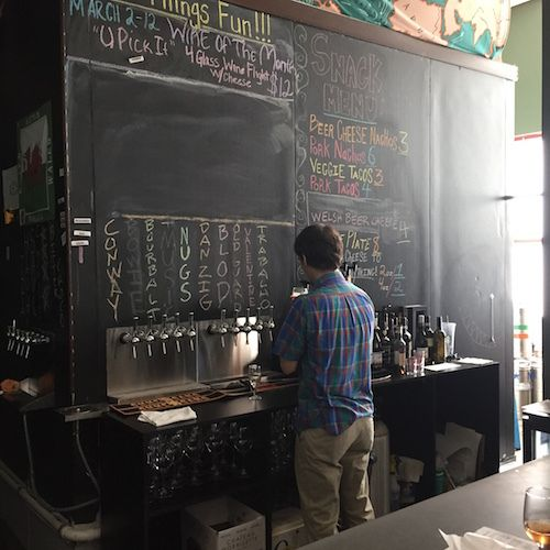Barrel Chest beer and wine in Roanoke, Virginia offers a large variety of craft beer and wine in four-, eight- and 16-ounce pours.