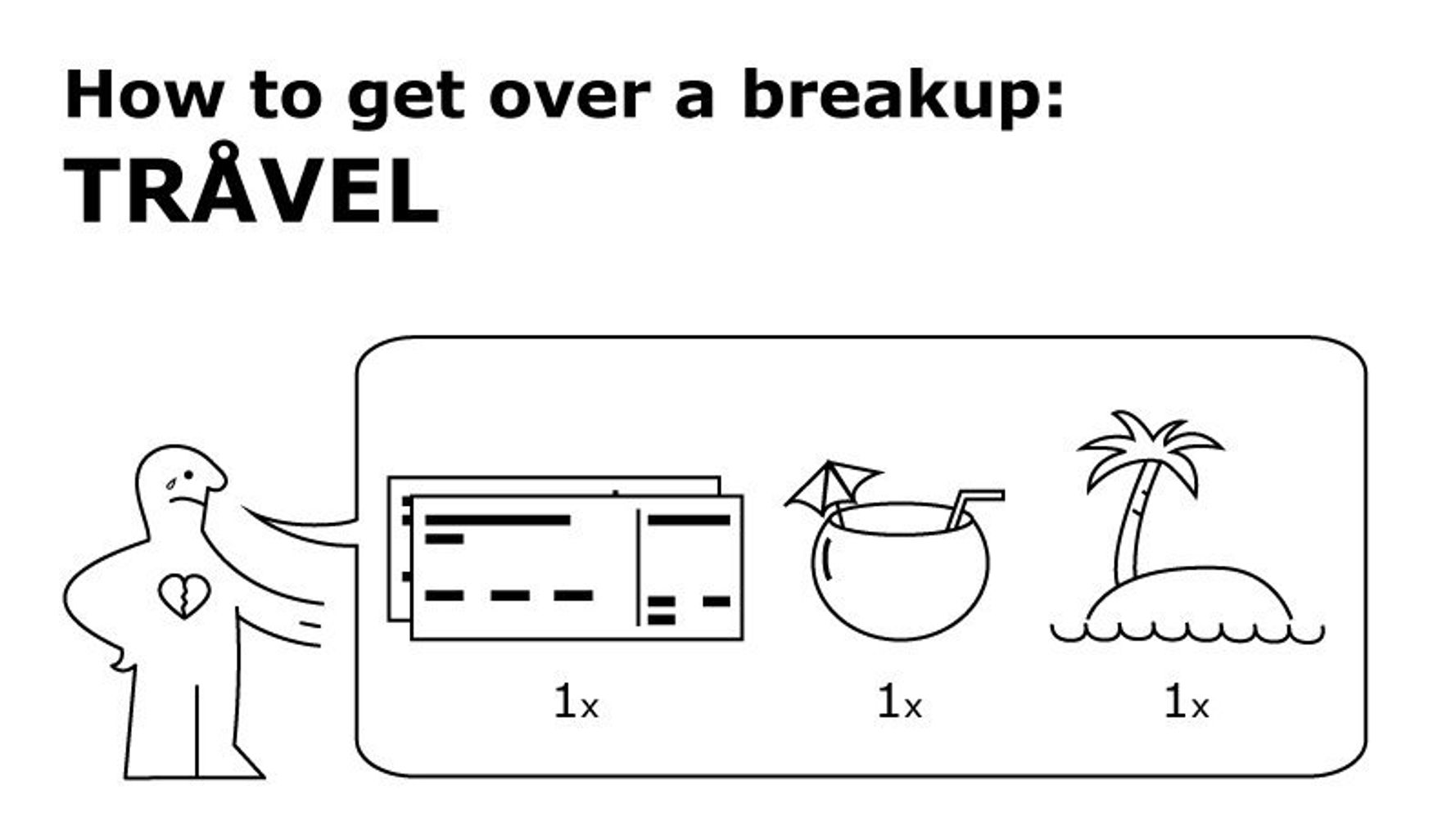 Let This Ikea-Inspired Manual Be Your Guide To Getting