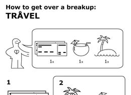 Let This Ikea-Inspired Manual Be Your Guide To Getting Over An Ex