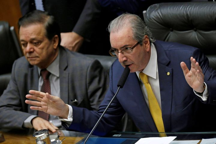 Eduardo Cunha had made a name for himself as one of President Dilma Rousseff's chief opponents.