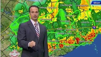KRIV-TV meteorologist Mike Iscovitz asked viewers to inform his newsroom if they were fired for not braving Houston's rising floodwaters to report to work this week.