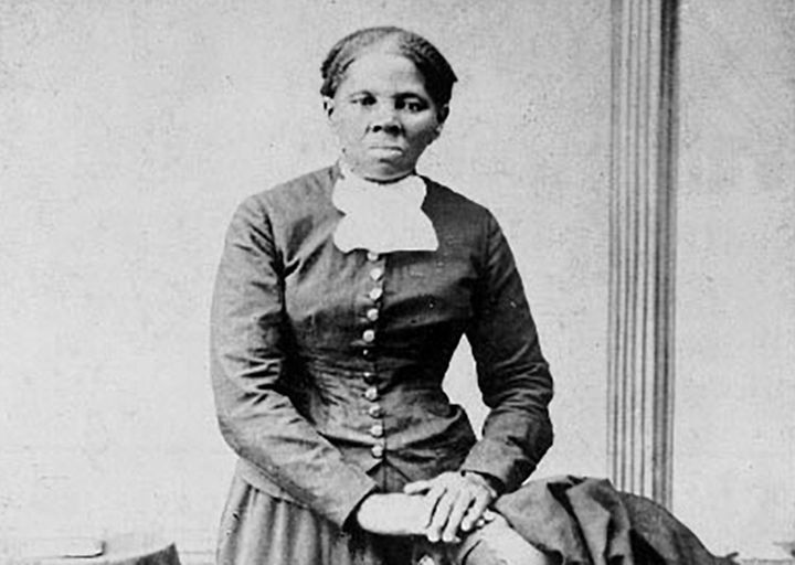 Anti-slavery crusader Harriet Tubman is seen in a picture from the Library of Congress taken between 1860 and 1870.
