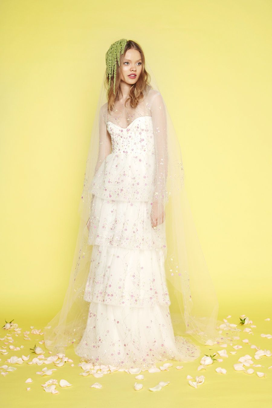 16 Colorful Wedding Dresses That Practically Scream Spring