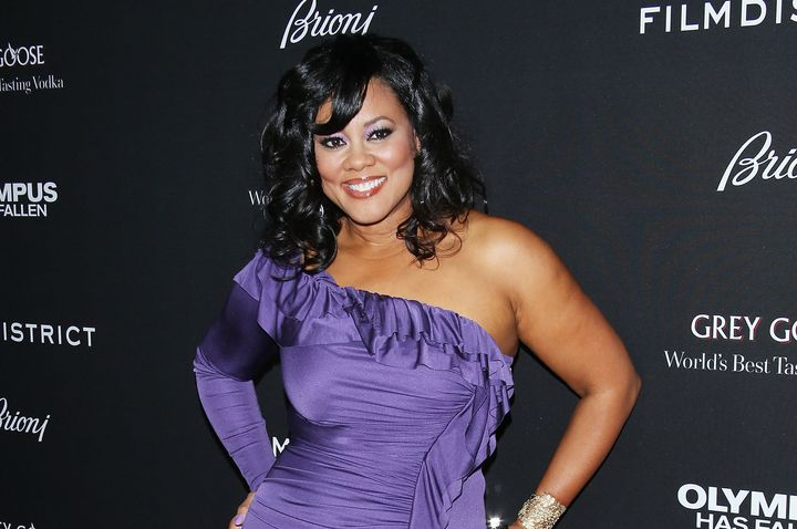 Lela Rochon smiles at a 2013 movie premiere.
