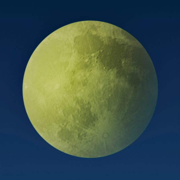 Green Moon: No, The Moon Won't Be Changing Colour Next