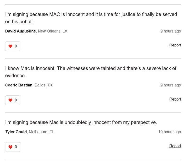 Petitioners Seek Release Of Imprisoned Rapper McKinley 'Mac