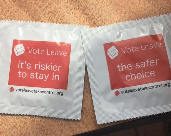Students Creeped Out By Vote Leave's Latest
