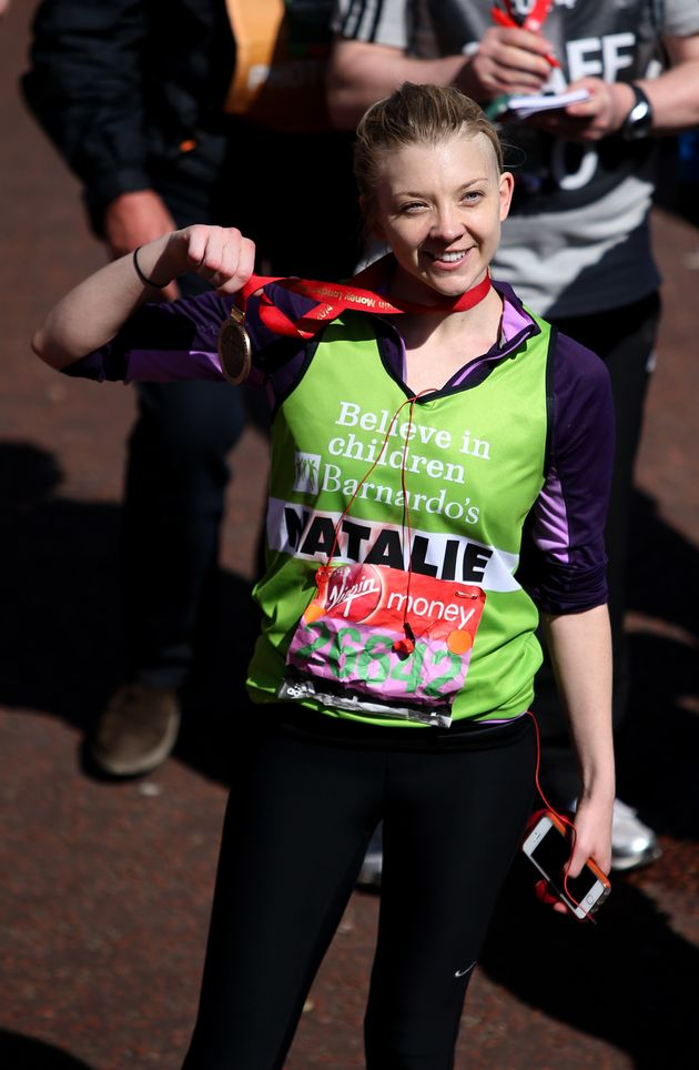 Game of Thrones star Natalie Dormer will be taking part in the marathon again this