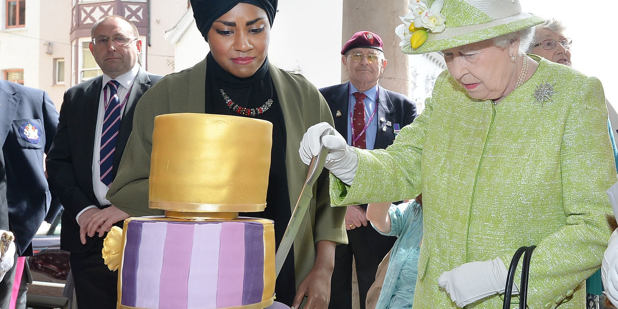 The Queen S 90th Birthday Nadiya Hussain Of Great